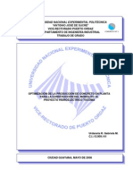 Optimizacion Produccion Concreto Planta Molinito 18 Tocoma