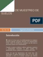 Métodos de muestreo de suelos
