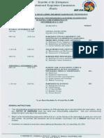 Nov 2013 Radiologic Technologists Board Exam