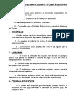 Regulamento Pr. Fabricio