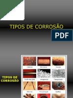 Tipos de Corrosão - Exemplos