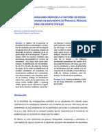 Factores Resilientes Como Respuesta a Factores de Riesgo