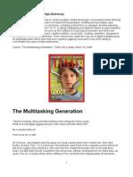The Multitasking Generation - Multitasking in the Digital Age (Highlighted)