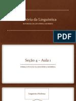 Hist Oria Da Lingu Istica 13 1