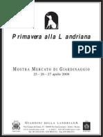 Elenco Espositori Primavera Alla Landriana 2008
