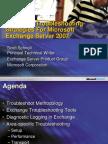 Exchange Server 2007 Trouble
