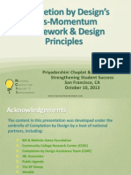 Completion by Design's Loss-Momentum Framework & Design Principles
