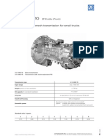 ZF ecolite 6S 1000 technical data