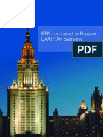 IFRS Compared to Russian GAAP O 200510