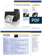 CL-S6621 Datasheet US Hi-res