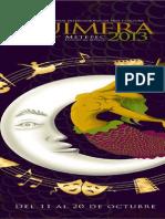 Program Aqui Meprograma quimera 2013