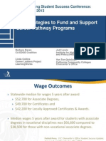 New Strategies to Fund and Support Career Pathway Programs
