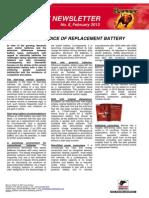 Newsletter Technik GB8