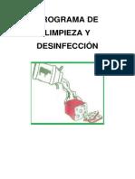 PROGRAMA DE LIMPIEZA Y DESINFECCIÓN
