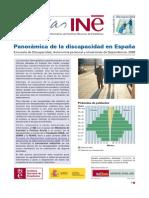 Panoramica de La Discapacidad en Espana 2009