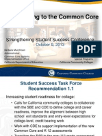 Transitioning to the Common Core