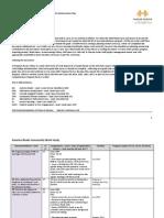 Program Review Action Plan