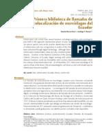 RM-091 Primera biblioteca de llamadas de ecolocalización de murciélagos del Ecuador.pdf