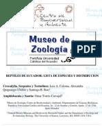 RM-096 Reptiles de ecuador, lista de especies y distribución. Amphisbaenia y Sauria.pdf