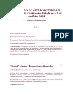 ley 2650 2004