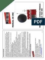 TGD-400 - Manual Medidor de Stress Térmico Modelo TGD-400