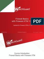 XTM Firewall Basics v11 7