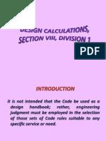 ASME VIII Div. 1- 1 Internal Pressure