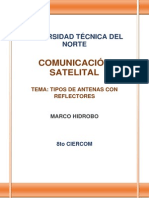 Marco Hidrobo Tipos de Antenas Con Reflectores