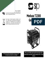 SIP T2300 Generator Manual