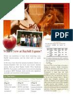 Bayhill Fall Newsletter