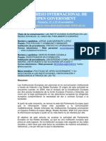 Las Instituciones Europeas en Las Redes Sociales. El Caso Del Parlamento Europeo