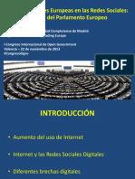 El Parlamento Europeo en Las Redes Sociales