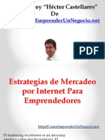 Estrategias de Mercadeo Por Internet Para Emprendedores