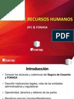 AFC Y FONASA PRESENTACIÓN