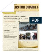 Hackers for Charity Newsletter Aug 2009