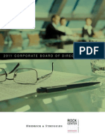 2011 Corporate Board of Directors Survey with Heidrick & Struggles