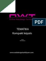Online Webdesign Tanfolyam Kompakt képzés tematika