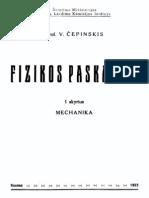 V.cepinskis. .Fizikos.paskaitos.1.Mechanika.1923.LT