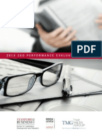 2013 CEO Performance Evaluation Survey with The Miles Group