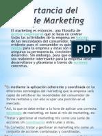 Importancia Del Mix de Marketing