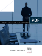2010 CEO Succession Planning Survey with Heidrick & Struggles
