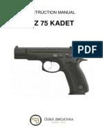 Cz75Kadet En