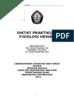 Petunjuk Praktikum Fisiologi Hewan