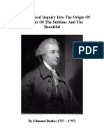Edmund Burke - A Philosophical Inquiry Into the Origin of Our Ideas of the Sublime and the Beautiful