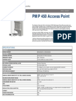 Cambium Networks PMP 450 Access Point Specification