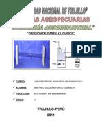 LABO 1.DIFUSIÓN DE GASES DE LÍQUIDOS