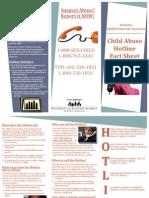 CPS Hotline Brochure