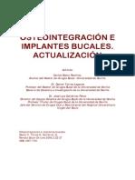 OSTEOINTEGRACIÓN E IMPLANTES BUCALES. ACTUALIZACIÓN.pdf