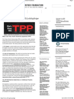 Trans-Pacific Partnership Agreement _ Electronic Frontier Foundation