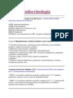 Endocrinología nemotecnias